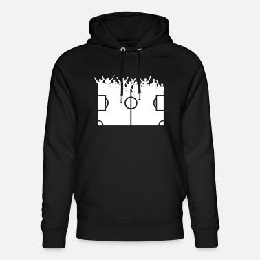 Football Fans Fans of football - Unisex Organic Hoodie