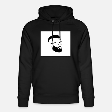 Hipster Hipster - Sudadera con capucha ecológica unisex