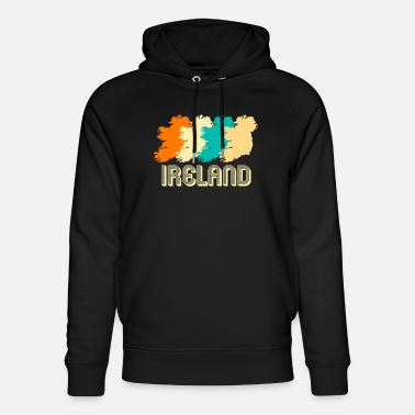 Football Retro Ireland - Unisex Organic Hoodie