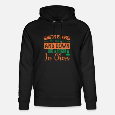 Priest Diabetes is passed that way over and down, like a - Unisex Organic Hoodie