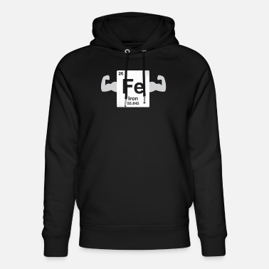 Coder Iron - nerdy and geeky gift - Unisex Organic Hoodie