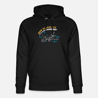 Flight Data Recorder Secret Revealed - How Planes Fly - Unisex Organic Hoodie