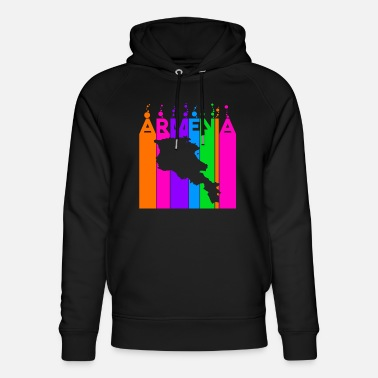 Travel Armenia Colored bubbles and bubbles - Unisex Organic Hoodie