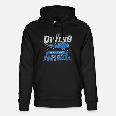 Goggles Apnea Scuba Diving freediving gift water sports - Unisex Organic Hoodie