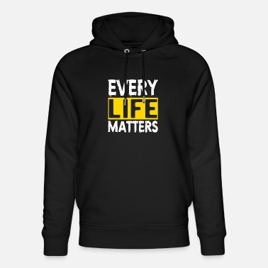 Suicidal Counselor Therapist MENTAL HEALTH AWARENESS: Every Life Matters - Unisex Organic Hoodie