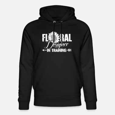 Love Floral Designer In Training Shirts - Unisex Organic Hoodie