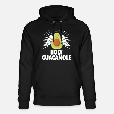 Holy Guacamole Cute Adorable Avocado With Halo Fun - Sudadera con capucha ecológica unisex