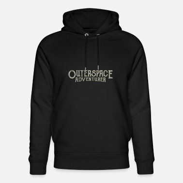 Outerspace Outerspace Adventurer astronaut - Unisex Organic Hoodie