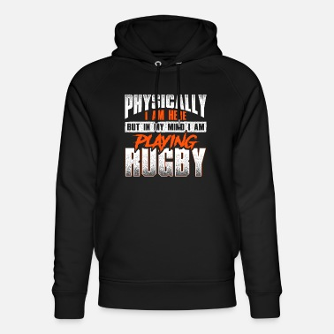 Crazy rugby saying - rugby - Unisex Organic Hoodie