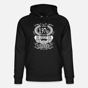 Production Year year 1976 birth year vintage year gift - Unisex Organic Hoodie