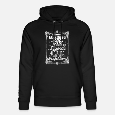 Legend 41 1976-legend - perfection - 2017 - DE - Unisex Organic Hoodie