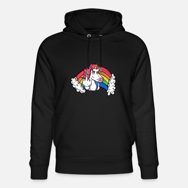 Beasts Unicorn sticky fingers - Unisex Organic Hoodie