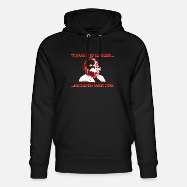 East Germany Communism Karl Marx funny saying - Unisex Organic Hoodie