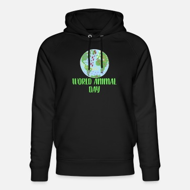 Animal Day World Animal Day - Unisex Organic Hoodie