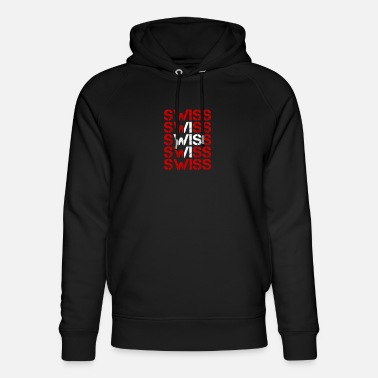 Swiss German Switzerland Swiss German Swiss gift idea alps - Unisex Organic Hoodie