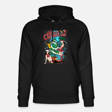 Sexy Merry Christmas. Sexy Merry Christmas - Unisex Organic Hoodie