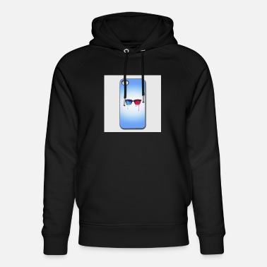 Iphone-44s 3d psychedelic goa meditation glasses iphone 44s h - Unisex Organic Hoodie