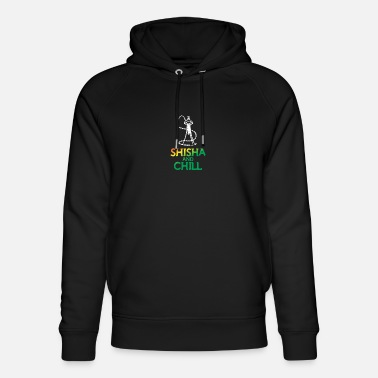 Shisha and chill - water pipe - Unisex Organic Hoodie