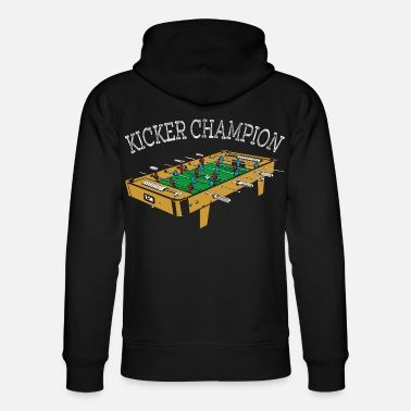 Kicker champion foosball table football gift - Unisex Organic Hoodie