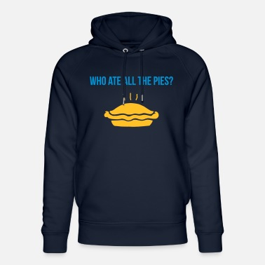 Pies who ate all the pies - Felpa con cappuccio ecologica unisex