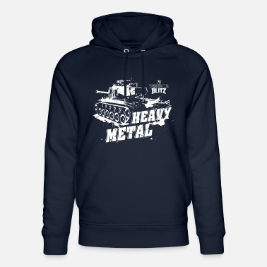 Blitz World Of Tanks Blitz Heavy Metal - Felpa con cappuccio ecologica unisex