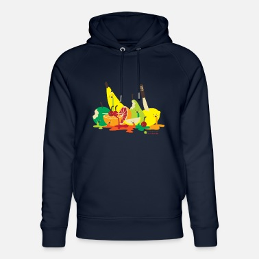 Fruit fruit assassiné - Sweat à capuche bio unisexe