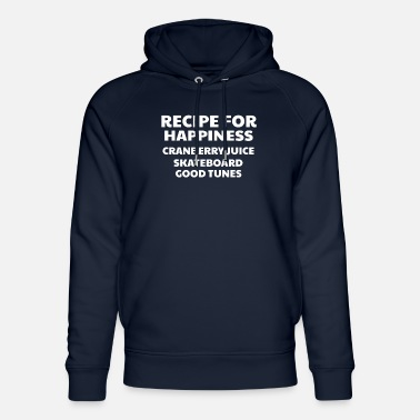 Good Ch Cranberry Vibes & Tunes Recipe for Happiness - Unisex Organic Hoodie