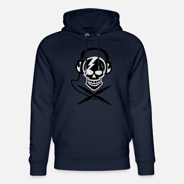 Music Piracy Pirate music, pirate music piracy Headphones - Unisex Organic Hoodie