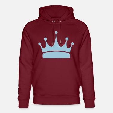 Crown for winners, print and design a T-shirt - Unisex Organic Hoodie