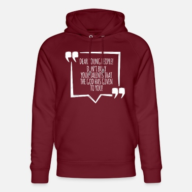 World Youth Day - Church - Faith - Religion - God - Unisex Organic Hoodie