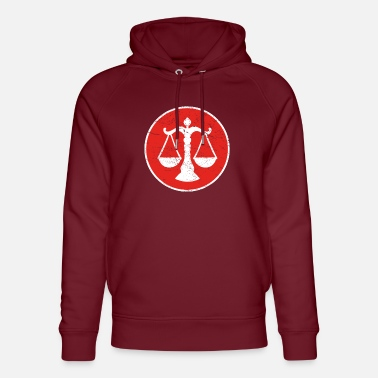Justice-authority Gift lawyer justice justice - Unisex Organic Hoodie