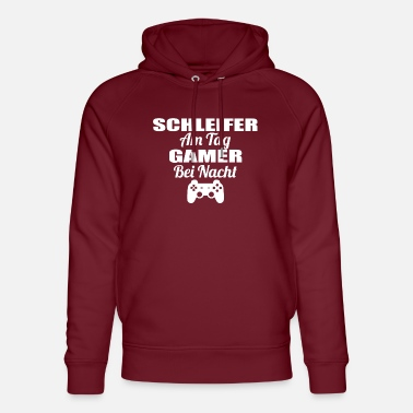 Tag Gambling on the day Gamer nacht lel lul GRINDERS png - Unisex Organic Hoodie