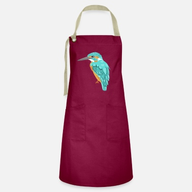 Kingfisher kingfisher - Artisan Apron