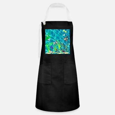 Tropical Fish Tropical Fish Tank - Artisan Apron