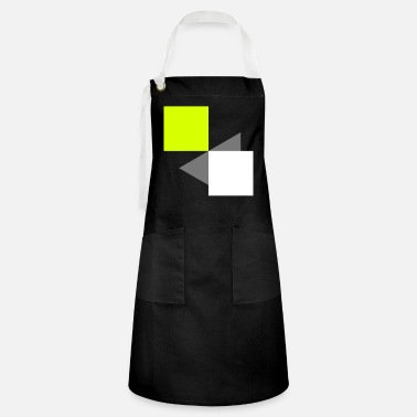 Art Abstract squares - Artisan Apron