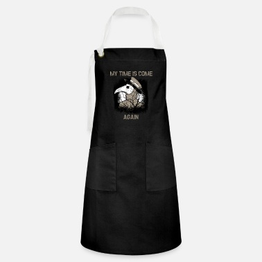 Biology Virus My Time Is Come ... Again - Artisan Apron