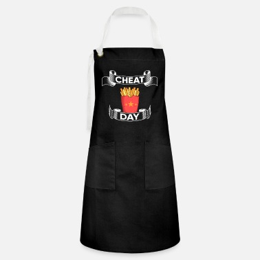 Cheatday fitness gift bodybuilder gym - Artisan Apron