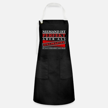 Customs Customs officer gift customs office - Artisan Apron