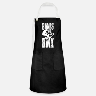 BMX bike cycling turndown gift saying - Artisan Apron