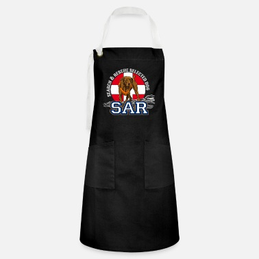 Search Dog search and rescue dog 1 - Artisan Apron