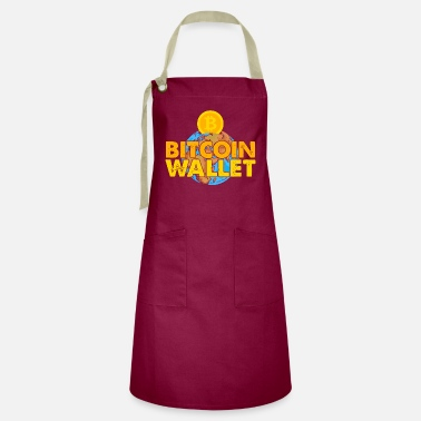 Miss Bitcoin, BTC and Crypto, Money - Artisan Apron