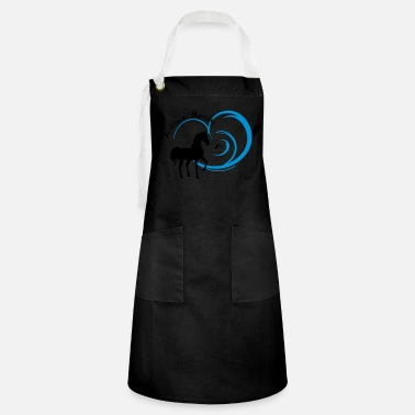 Horse Fan Arabian Horse for Arab fans - Artisan Apron