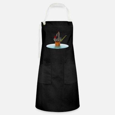 Oil Exploration Drilling platform in the sea - Artisan Apron