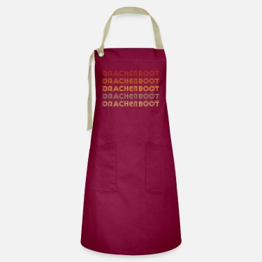 Dragon Boat Dragon Boat Dragon Boat Dragon Boat - Artisan Apron