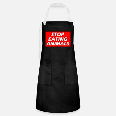 STOP EATING ANIMALS - Artisan Apron