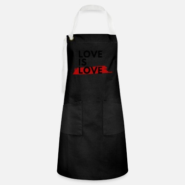Loves Love is Love - love is love - Artisan Apron