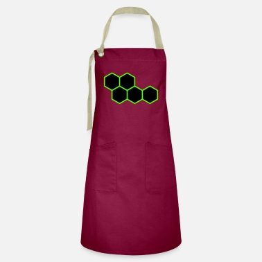 Hexagon Hexagons - Artisan Apron