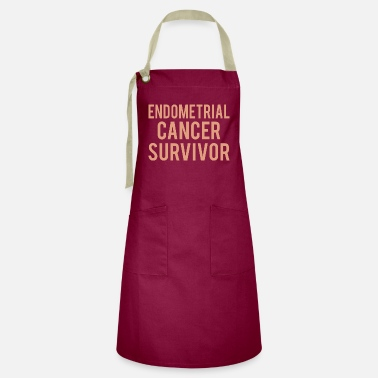 Endometrial Cancer Survivor Endometrial Cancer: Endometrial Cancer Survivor - Artisan Apron