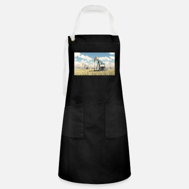 Oil Oil pumps, oil production, oil production, oil - Artisan Apron
