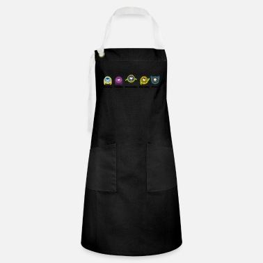 Day Of The Week Days of the week Monster - Artisan Apron